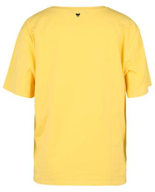 Materialmix-T-Shirt mit Print Sarda WEEKEND MAX MARA