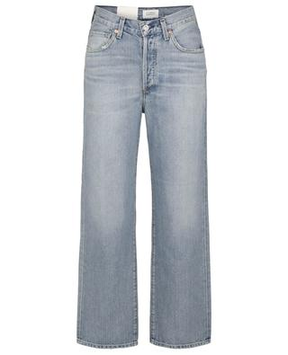 Elle V-Front Issa relaxed cropped straight fit jeans CITIZENS OF HUMANITY