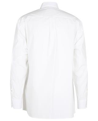 Langarm-Hemd aus Baumwolle mit Stickerei Men's Garden VALENTINO