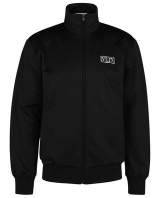 VLTN Tag technical jersey sweat jacket VALENTINO