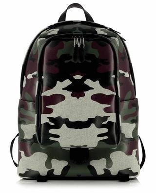 Rucksack aus beschichtetem Tuch mit Camouflage-Muster Jack BURBERRY