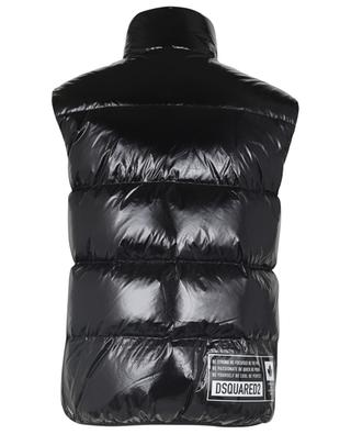 DSQ2 glossy ripstop puffer vest DSQUARED2