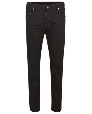 Schwarze Slim-Fit-Jeans Skater Jean DSQUARED2