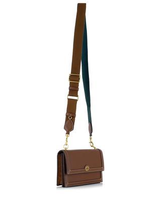 T Monogram Mini leather shoulder bag TORY BURCH