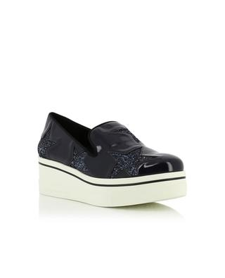Patent faux-leather loafers STELLA MCCARTNEY