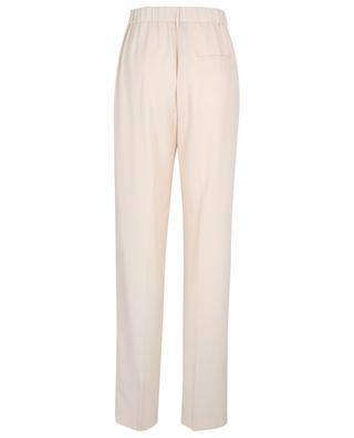 Pantalon droit en sergé de laine FORTE FORTE