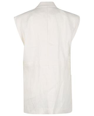 Helena oversize linen twill vest REMAIN BIRGER CHRISTENSEN
