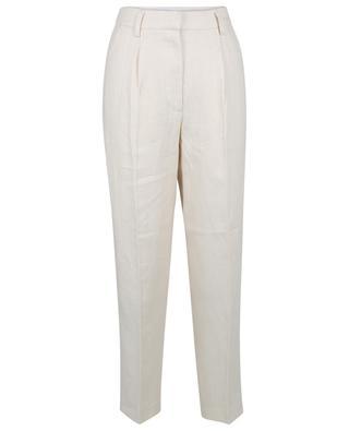 Paris straight loose leg linen twill trousers REMAIN BIRGER CHRISTENSEN