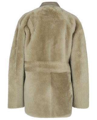 Harlow oversize shearling overshirt REMAIN BIRGER CHRISTENSEN