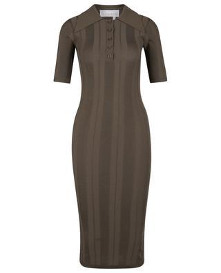 Evial short fitted polo knit dress REMAIN BIRGER CHRISTENSEN