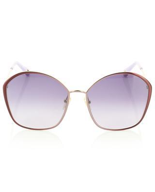 Grandes lunettes de soleil aviateur en métal Irene CHLOE