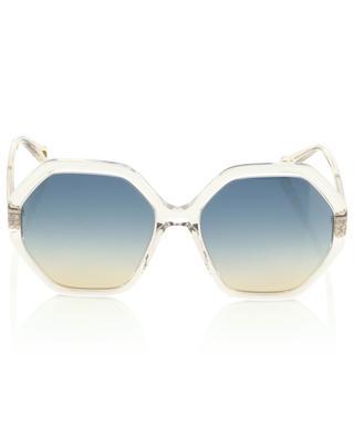 Achteckige Sonnenbrille aus Acetat Esther CHLOE