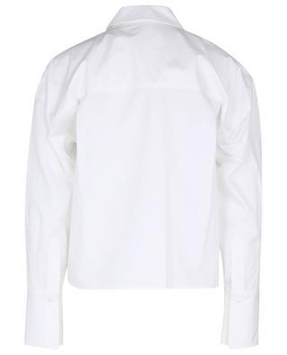 Verkürztes Boxy-Hemd aus Popeline Pulao LOULOU STUDIO
