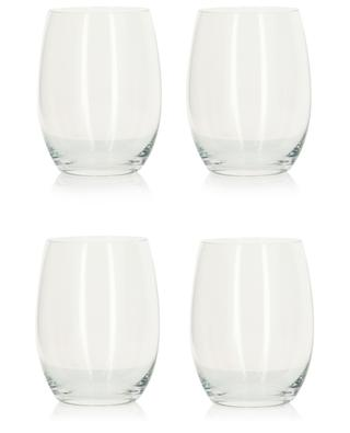 Mami XL set of four long drink glasses ALESSI