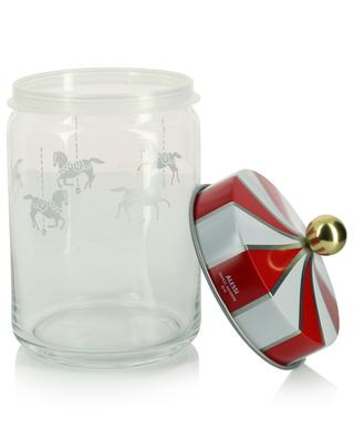 Bocal hermétique en verre Circus - H19 cm ALESSI