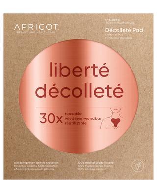 Hyaluron-Dekolleté-Pad Liberté Décolleté - 30 Anwendungen APRICOT