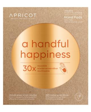 A Handful Happiness hyaluron hand pads - 30 uses APRICOT
