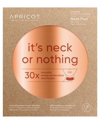 Hyaluron-Hals-Pad It's Neck Or Nothing - 30 Anwendungen APRICOT