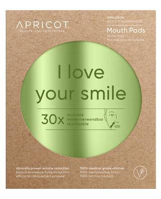 I Love Your Smile hyaluron mouth pads - 30 uses APRICOT