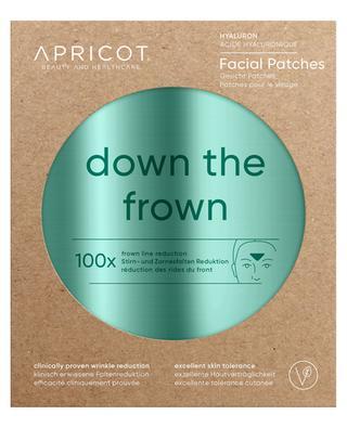 Patchs visage à l'acide hyaluronique Down The Frown - 100 pièces APRICOT