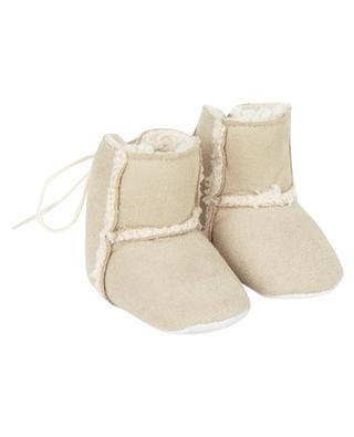 Kunstpelz-Stiefelchen für Babys TARTINE ET CHOCOLAT