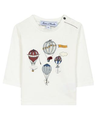 T-shirt jersey imprimé montgolfières garçon TARTINE ET CHOCOLAT