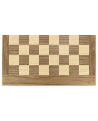 Schach- und Backgammon-Set aus Walnussholz MANOPOULOS