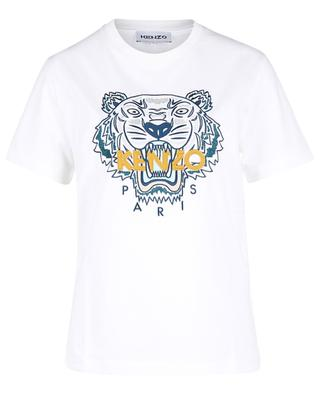 Tiger embroidered short-sleeved T-shirt KENZO