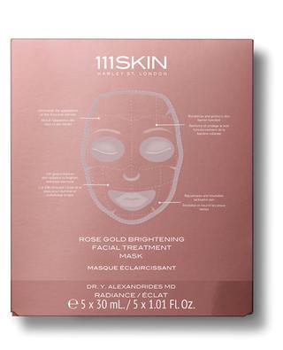 Masque de soin teint éclatant pour le visage Or Rose - 5 unités 111 SKIN