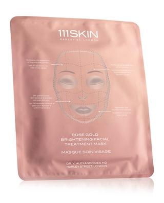 Rose Gold Brightening Facial Treatment Mask Single 111 SKIN