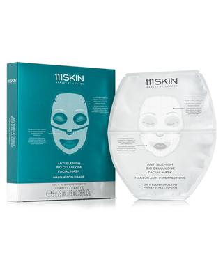 Masque facial Bio Cellulose Anti-imperfections - 5 masques 111 SKIN