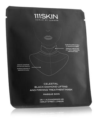 Celestial Black Diamond Lifting and Firming Treatment Mask Neck Single 111 SKIN