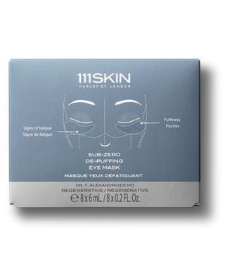 Sub Zero De-puffing Eye Mask - 8 units 111 SKIN