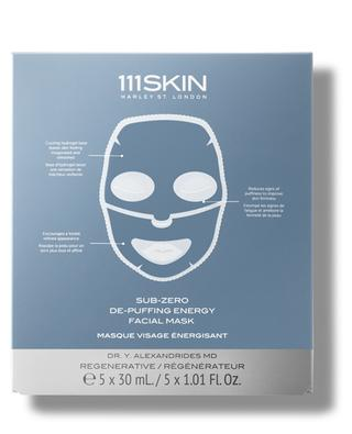 Masque pour le visage énergie anti-poches Sub Zero - 5 unités 111 SKIN
