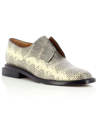 Rayane leather lace-up derby shoes CLERGERIE