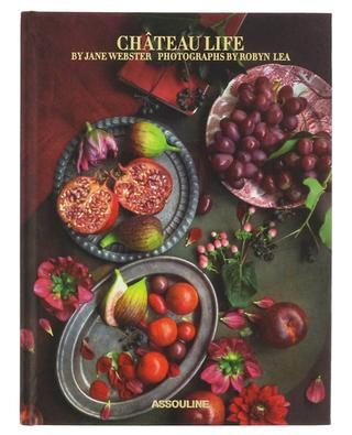 Beau livre contenant des recettes Château Life ASSOULINE