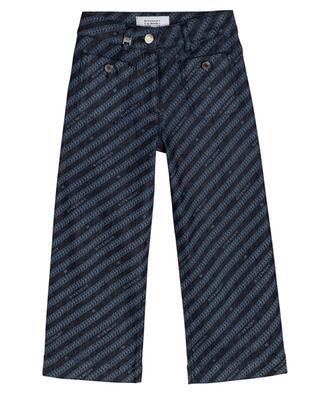 Mädchen-Jeans mit Kettenprint GIVENCHY