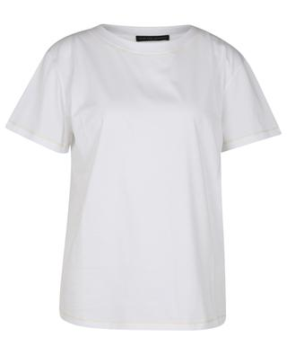 TERRA loose jersey T-shirt with cashmere FABIANA FILIPPI