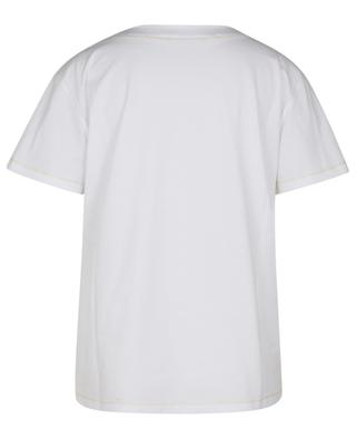 Weites Jersey-T-Shirt mit Kaschmir TERRA FABIANA FILIPPI