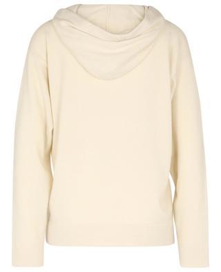 Kapuzen-Pullover aus Kaschmir mit Streifen-Detail TERRA FABIANA FILIPPI