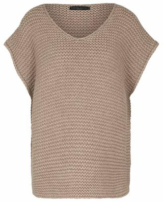 Weiter ärmelloser Pullover aus dickem Kaschmir TERRA FABIANA FILIPPI