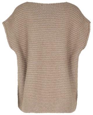 TERRA chunky sleeveless cashmere jumper FABIANA FILIPPI
