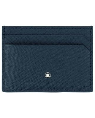 Sartorial 5cc saffiano leather card case MONTBLANC