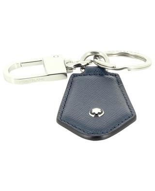 Sartorial Diamond saffiano leather key fob MONTBLANC