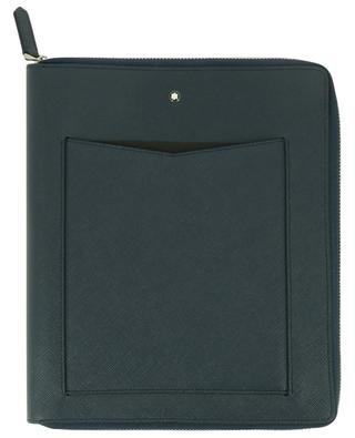 Sartorial small notebook holder in leather with notebook MONTBLANC