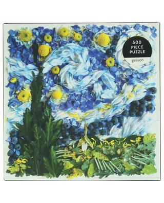 Puzzle fleuri Starry Night Petals - 500 pièces ABRAMS & CHRONICLES BOOKS