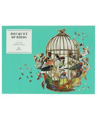 Puzzle en forme d'une cage Bouquet of Birds - 750 pièces ABRAMS & CHRONICLES BOOKS