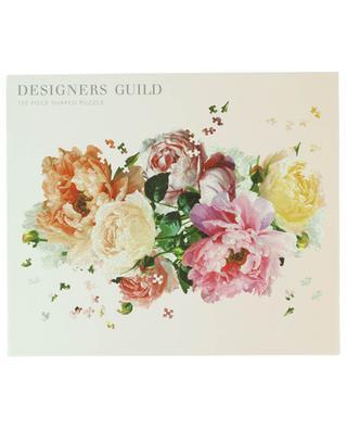 Puzzle à la forme d'un bouquet de fleurs Designers Guild - 750 pièces ABRAMS & CHRONICLES BOOKS