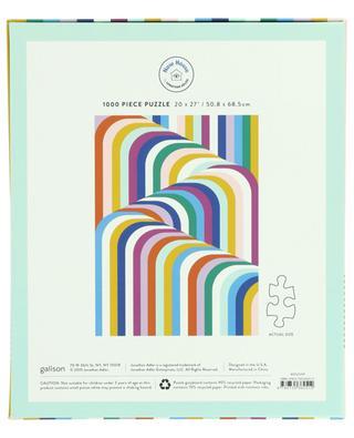 Puzzle à motifs 3D multicolores Now House - 1000 pièces ABRAMS & CHRONICLES BOOKS