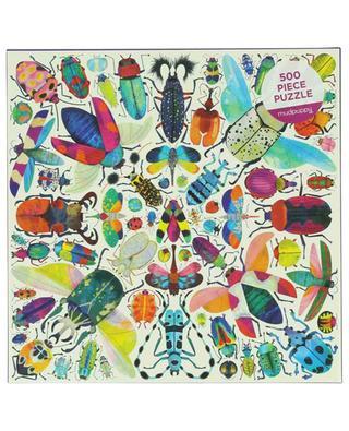 Puzzle motif scarabées Kaleido-Beetles - 500 pièces ABRAMS & CHRONICLES BOOKS